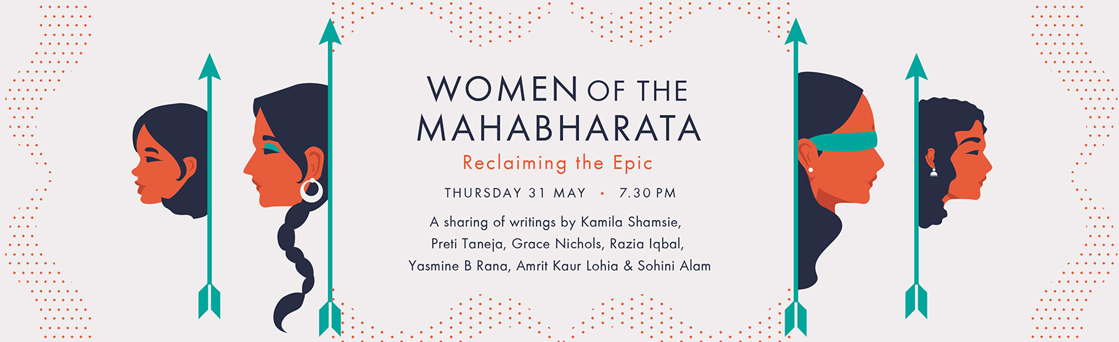 Women of the Mahabharata livestream Thurs 31 May 7.30pm